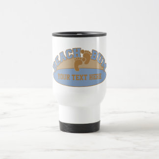 Custom Beach Bum mugs - choose style, color
