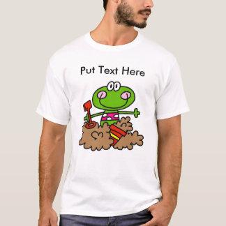 Custom Beach Fun Frog T-Shirt