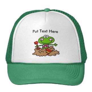 Custom Beach Fun Frog Trucker Hat