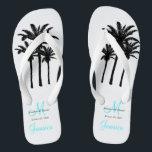 9faca072a Custom Beach Jamaica Wedding Flip Flops br  div class
