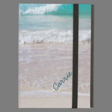 Custom Beach Photo iPad Case With Stand