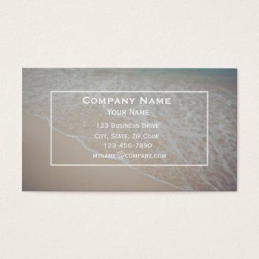 Beach Themed Custom Beach Rental Business Card