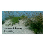 Custom Beach Sand Dune Contractor Painter Double-Sided Standard Business Cards (Pack Of 100)