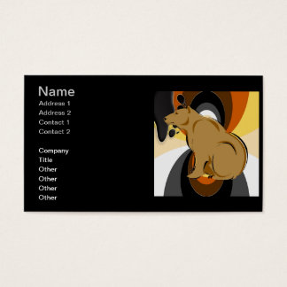 Custom Bear Pride Business Cards
