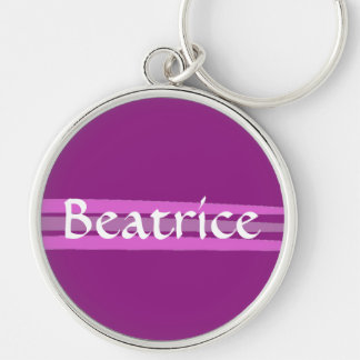 Custom Beatrice Keychain