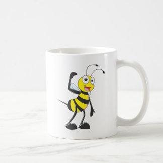 "Custom Bee in ""Come Here"" Hand Gesture Coffee Mug"