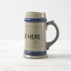 Custom Beer Mug - You Make It! at Zazzle