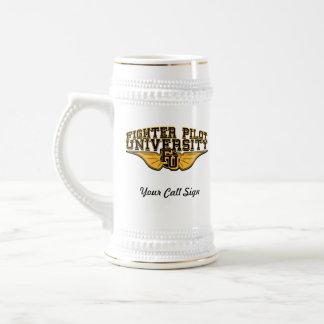 Custom Beer Stein w/call sign 18 Oz Beer Stein