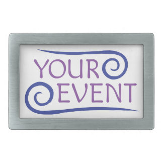 Custom Belt Buckle Company Event Logo Promotional