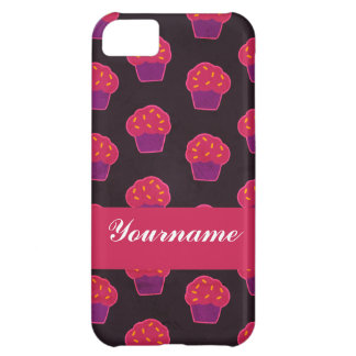 Custom Berry Cupcake Cover For iPhone 5C