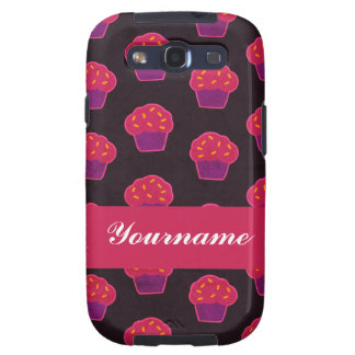 Custom Berry Cupcake Samsung Galaxy S3 Cases
