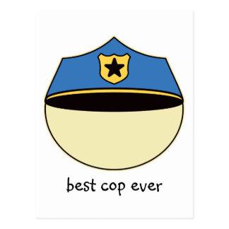 Custom Best Cop Ever Post Cards