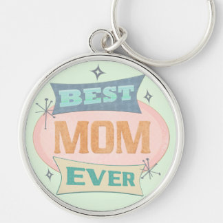 Custom Best Mom Mother's Day Keychain