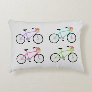Custom Bicycle Accent Pillow