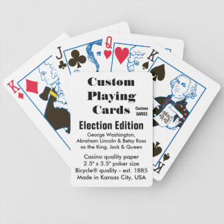 Custom Bicycle® Playing Cards - Election Edition