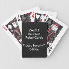 Custom Bicycle® Poker Playing Cards Tragic Royalty