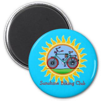 Custom Bicycling Club Logo Wear Fridge Magnets
