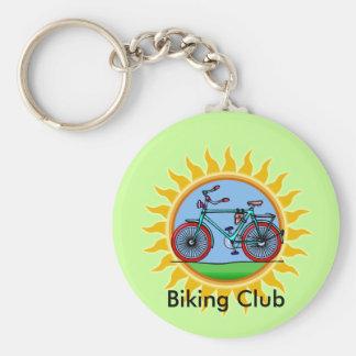 Custom Bicycling Club Logo Wear Keychain