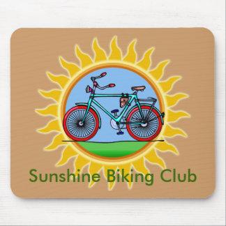Custom Bicycling Club Logo Wear Mouse Pad
