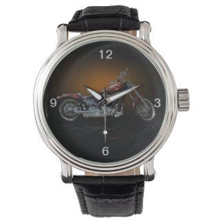 Custom Bike Wrist Watch