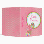 Custom BInder For Candace- Candi Cupcakes