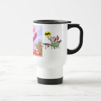 Custom Bingo 15 oz Travel/Commuter Mug