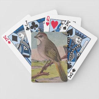 Custom Bird in Tree Deck of Cards