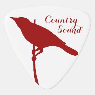 Custom Bird Triangle Guitar Pick (Double Sided)