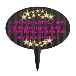 Custom Birthday Cake Toppers Cake Pick