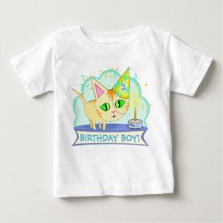 Custom Birthday Cat T-Shirt