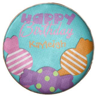 Custom Birthday Dipped Oreo
