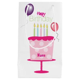 Custom Birthday Gift Bag For Her