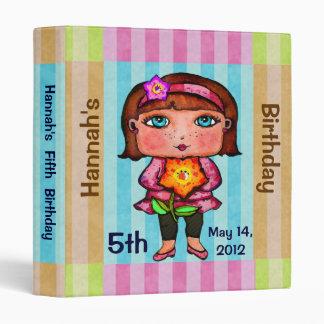 Custom Birthday / Other Little Girl Photo Binder