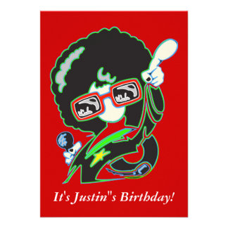 Custom Birthday Party Invites