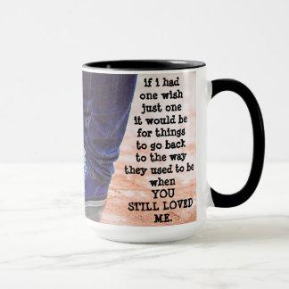 Custom Black 15 oz Ringer Mug Then By ZAZZ_IT