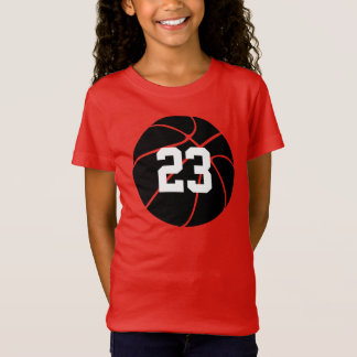 Custom Black Basketball Kids T-shirt Jerseys
