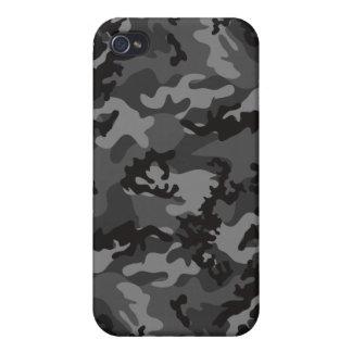 Custom Black Camo iPhone 4 Case