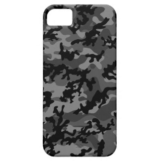 Custom Black Camo iPhone 5 Case-Mate Barely There