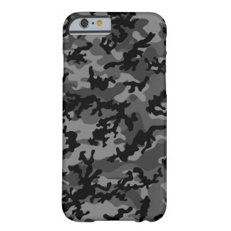 Custom Black Camo iPhone 5 Case-Mate Barely There iPhone 6 Case