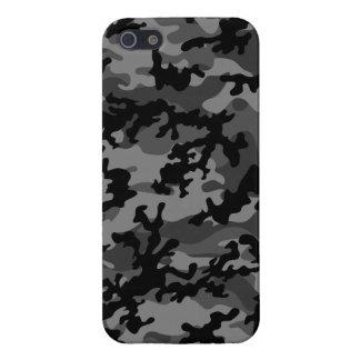 Custom Black Camo iPhone 5 Case Savvy (Glossy)