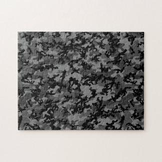 Custom Black Camo Puzzle