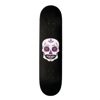 Custom Black Purple Candy Skull Deck