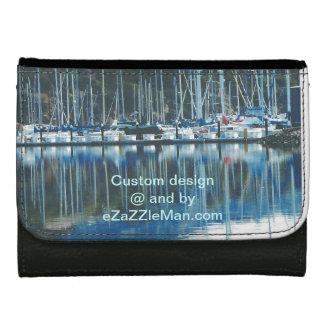 Custom Black small leather wallet by eZaZZleMan