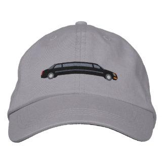 Custom Black VIP Limousine Embroidery Embroidered Baseball Hat