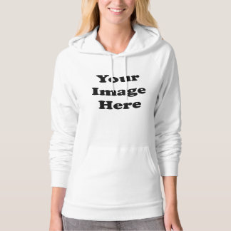 Custom Blank Template Ladies Pullover Hoodie