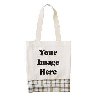 Custom Blank Template Zazzle HEART Tote Bag