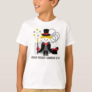 Custom Blond Boy Hocus Pocus Magic T-shirt
