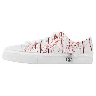 Custom Bloody Shoes, Men / Women Low-Top Sneakers