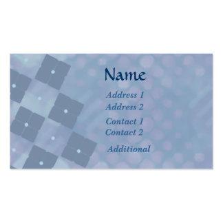 Custom  Blue Argyle Business Business Cards