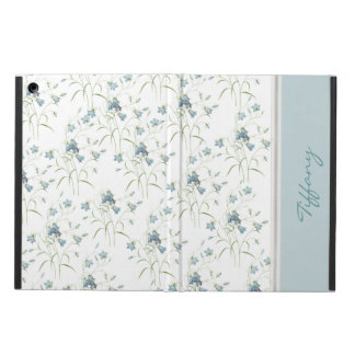 Custom Blue Bells iPad Air Case with Stand
